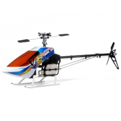 "JS Models TZ-V2 ""3D Frenzy Competition"" .50 Size Pro Helicopter Kit w/Torque Tube Tail"