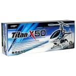 Thunder Tiger Titan X50 Combo Kit w/Carbon Fiber V2 Blades, RL-53H & High Flow Muffler