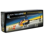 Align T-Rex 450 Pro V2 3GX Flybarless Super Combo Helicopter Kit w/Motor, Servos & CF Blades