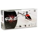 Curtis Youngblood Rave 450 4S Flybarless Helicopter Kit w/Scorpion 10 Motor & CY 350mm CF Blades