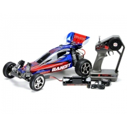Traxxas Bandit Buggy RTR w/Waterproof XL-5 Speed Control (w/Battery & Wall Charger)