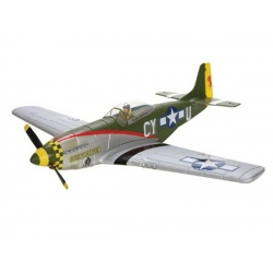 ParkZone P-51D Brushless DSMX RTF Electric Airplane