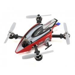 Blade Helis Mach 25 FPV Quadcopter Drone Racer w/Teleporter V4 Video Headset