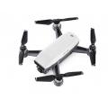 "DJI Spark Quadcopter Drone ""Fly More Combo"" (Alpine White) w/Shoulder Bag, Transmitter, 2 Batteries & Charger"