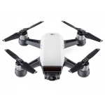 "DJI Spark Quadcopter Drone ""Fly More Combo"" (Alpine White) w/Shoulder Bag, Transmitter, 2 Batteries & Charger"