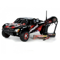 Traxxas Slash 4X4 Brushless 1/10 Scale Electric 4WD Short Course Truck w/2.4Ghz Radio