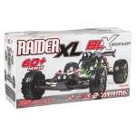 Arrma Raider XL BLX Brushless 1/8 RTR Electric Baja Buggy (Green/Black) w/TTX300 2.4GHz, Battery & Charger