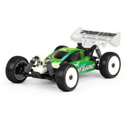 OFNA Hyper 9e 1/8 4WD Buggy Rolling Chassis