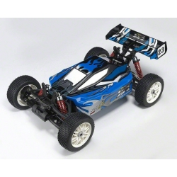 Thunder Tiger EB-4 G3 1/8 Brushless Electric RTR Buggy w/2.4Ghz Radio (Blue)