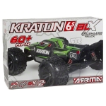 Arrma Kraton BLX Brushless RTR 1/8 Monster Truck w/ATX100 2.4GHz Radio