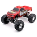 "Traxxas ""Advance Auto Parts Grinder"" Monster Jam 1/10 Scale 2WD Monster Truck"
