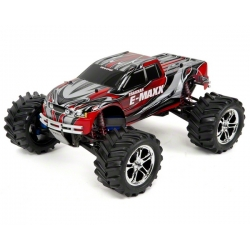 Traxxas E-Maxx RTR 4WD Monster Truck w/2.4GHz TQi, Link Module & Two Batteries