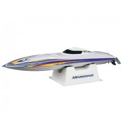 AquaCraft Minimono Brushless Boat RTR w/Tactic 2.4Ghz Radio System