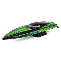 """Pro Boat Sonicwake 36"""" RTR Deep-V Brushless Boat (Black) w/Spektrum STX2 2.4GHz Radio"""