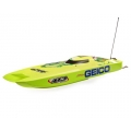 "Pro Boat Miss GEICO Zelos 36"" Twin RTR 6S Brushless Catamaran Boat"