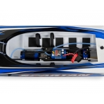 Traxxas Spartan High Performance Race Boat RTR (Blue) w/TQi 2.4Ghz Radio, TSM, iD & Castle ESC