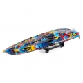 Traxxas Spartan High Performance Race Boat RTR (Rock n Roll) w/TQi 2.4Ghz Radio, TSM, iD & Castle ESC