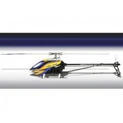 Align T-REX 700E DFC Flybarless HV Super Combo Kit w/Motor, ESC, 4 HV Servos & CF Blades