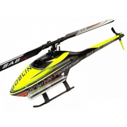 SAB Goblin Black Nitro Flybarless Helicopter Kit (Yellow)