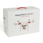 DJI Phantom 2 Vision+ Quadcopter & ProTek R/C Hardcase Combo w/HD Camera and 3-Axis Gimbal