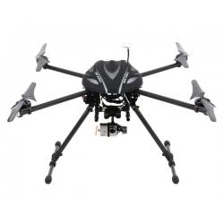 Walkera QR X800 RTF2 FPV Quadcopter System w/DEVO 12E, iLook, Gimbal, LiPo, & Case
