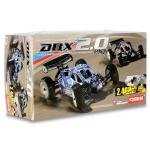 Kyosho DBX 2.0 ReadySet 1/10th 4WD Nitro Off Road Buggy w/Syncro 2.4GHz Radio & GXR18SP (Blue)