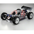 Kyosho DBX 2.0 ReadySet 1/10th 4WD Nitro Off Road Buggy w/Syncro 2.4GHz Radio & GXR18SP (Red)