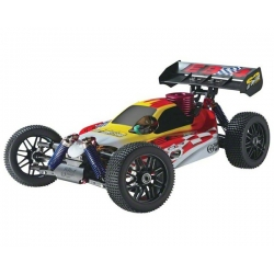 Thunder Tiger EB-4 S2 Pro 1/8 Nitro RTR Buggy w/2.4Ghz Radio (Red)