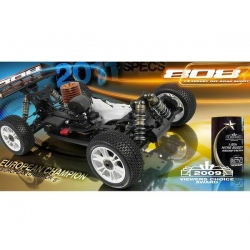 XRAY XB808 2011 Spec Luxury 1/8 Nitro Off-Road Buggy Kit