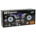 "Hot Bodies D8T ""Tessmann Edition"" 1/8 Off Road Competition Truggy Kit"