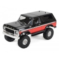 Traxxas TRX-4 1/10 Trail Crawler Truck w/'79 Bronco Ranger XLT Body (Red) w/TQi 2.4GHz Radio