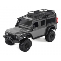 Traxxas TRX-4 1/10 Scale Trail Rock Crawler w/Land Rover Defender Body (Silver) w/XL-5 ESC & TQi 2.4GHz Radio