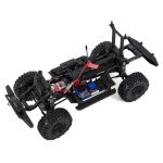 Traxxas TRX-4 1/10 Scale Trail Rock Crawler w/Land Rover Defender Body (Red) w/XL-5 ESC & TQi 2.4GHz Radio