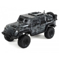 Traxxas TRX-4 Tactical 1/10 Scale Trail Rock Crawler w/Tactical Unit Body w/XL-5 ESC & TQi 2.4GHz Radio